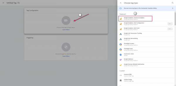 Google Analytics Template Tag